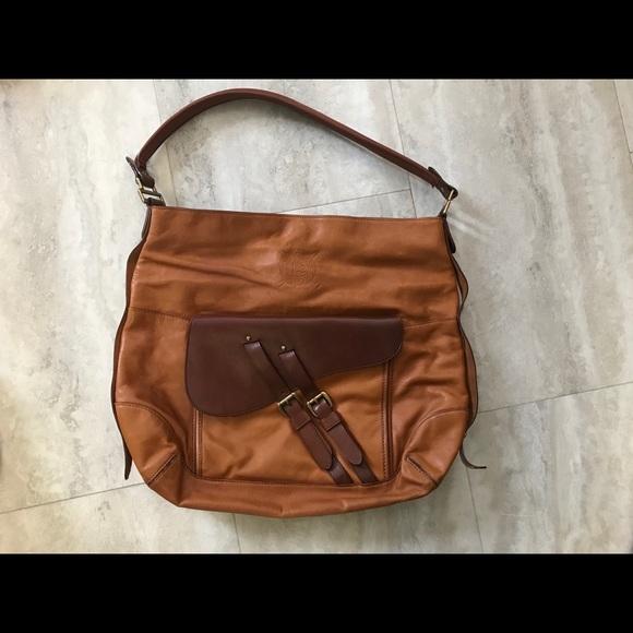 a15644cf2cc7 Genuine Ralph Lauren leather bag